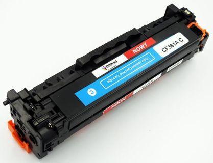 CF381A Nowy zamiennik do HP Color LaserJet Pro M476 MFP / Niebieski / 2700 stron / Nowy zamiennik