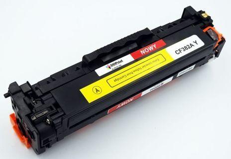 CF382A Nowy zamiennik do HP Color LaserJet Pro M476 MFP / Żółty / 2700 stron / Nowy zamiennik