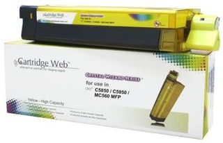 Toner do OKI C5850 C5950 MC560 / 43865721 / Yellow / 6000 stron / zamiennik