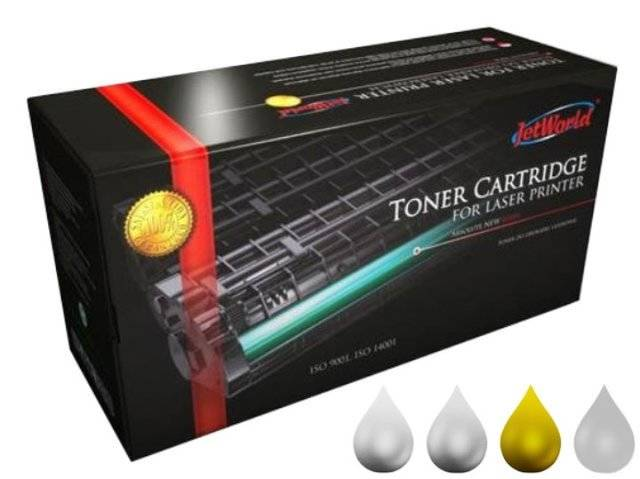 Toner Yellow HP 650A zamiennik refabrykowany CE272A do HP Color LaserJet Enterprise CP5525 / M750 / Żółty / 15000 stron